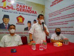 DPC Partai Gerindra Surabaya Bagikan 1.000 Sembako untuk Warga yang Kurang Mampu