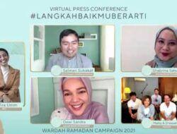 Berbagi Kebaikan, Wardah Kembali Gelar Kampanye #LangkahBaikmuBerarti Selama Ramadan