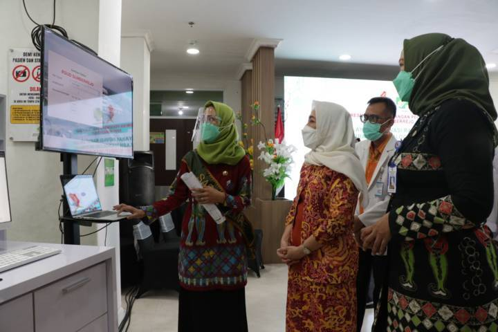 RSUD Sumberrejo memberikan pelayanan untuk masyarakat berbasis IT. (Humas Pemkab Bojonegoro/Tugu Jatim)