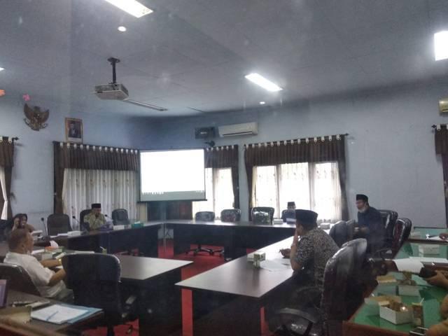 Rapat Banmus (Badan Musyawarah) DPRD Kabupaten Trenggalek. (Foto: Zamzuri/Tugu Jatim)