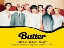 "Wow, Single BTS ""Butter"" Capai 50M Viewers dalam 6 Jam!"