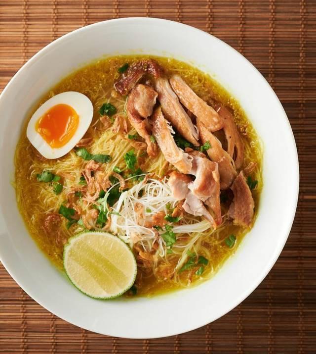 Soto Ayam-Indonesian chicken noodle soup. (Pinterest/Tugu Jatim)
