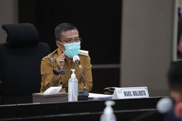Wakil Wali Kota Batu Punjul Santoso.(Foto: Sholeh/Tugu Jatim)