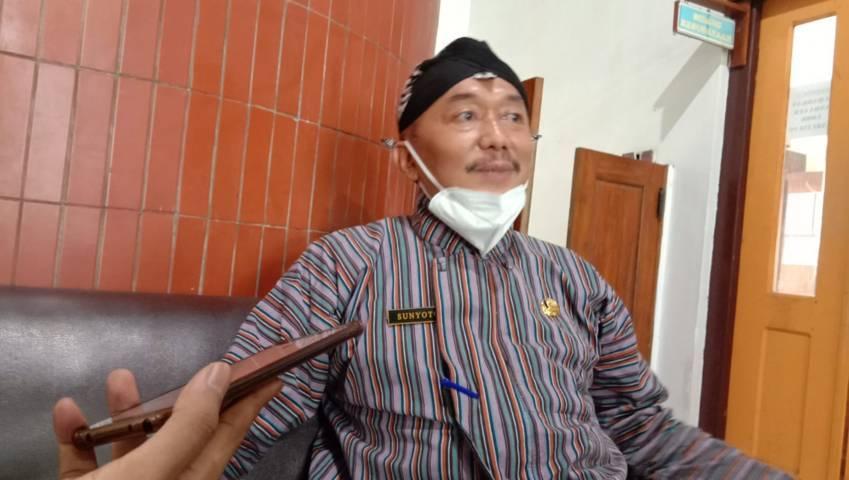 Kepala Dinas Pariwisata dan Kebudayaan (Disparbud) Kabupaten Trenggalek Sunyoto. (Foto: Zamzuri/Tugu Jatim)