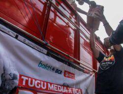Tugu Media Peduli X Bakti BCA Salurkan Bantuan Semen untuk SD-SMP di Tirtoyudo Malang