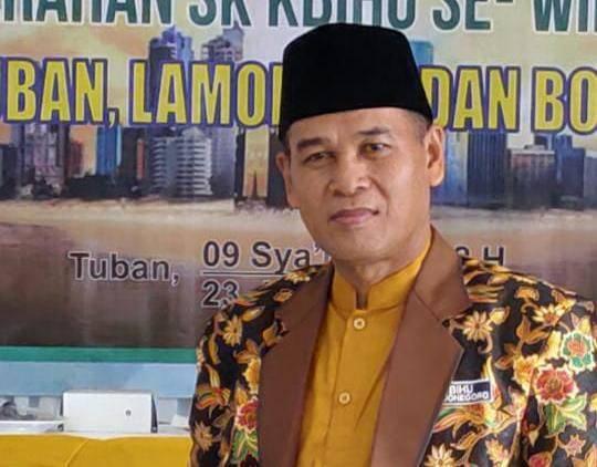 Ketua Panitera Pengadilan Agama Bojonegoro Sholikin Jamik. (Foto: Mila Arinda/Tugu Jatim)