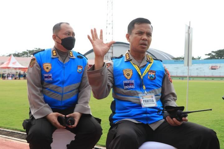 Baik calon taruna dan taruni Akademi Kepolisian (Akpol) maupun panitia penguji harus bebas Covid-19. (Foto: Polda Jatim/Tugu Jatim)