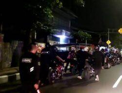 Kena Sanksi, 16 Pembalap di Malang Dorong Sendiri Motornya ke Mapolresta Malang Kota