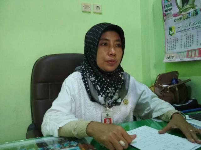 Kasi Penyelenggara Haji dan Umroh Kantor Kemenag Kabupaten Tuban Umi Kultsum. (Foto: Rochim/Tugu Jatim)