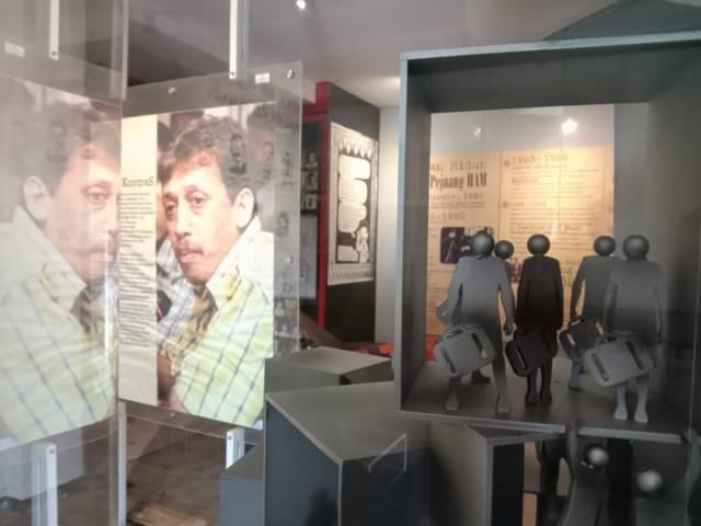 Suasana gedung baru Museum Omah Munir di Kota Batu. (Foto: Sholeh/Tugu Jatim)