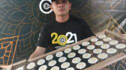Kerupuk kulit telur kreasi dosen STIKes ICsada Bojonegoro Adib Nurdiyanto. (Foto: Mila Arinda/Tugu Jatim)