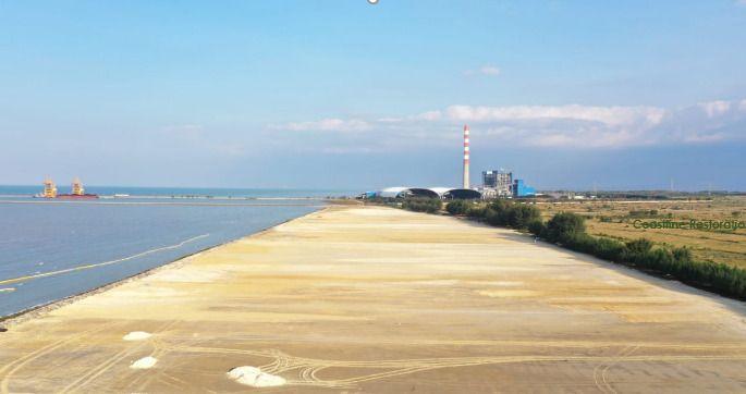 Area yang akan dibangun kilang minyak Grass Root Refinery (GRR) T. (Foto: Humas PT Pertamina Rosneft Pengolahan dan Petrokimia/Tugu Jatim)