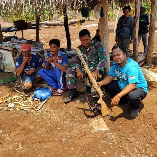Anggota Lembaga Konservasi Sahabat Alam Indonesia (SAI) yang bermarkas di Perumahan Graha Dewata Blok JJ5 No 10, Desa Landungsari, Kecamatan Dau, Kabupaten Malang, ini menjadi pejuang lingkungan. (Foto: Rap/Tugu Jatim)