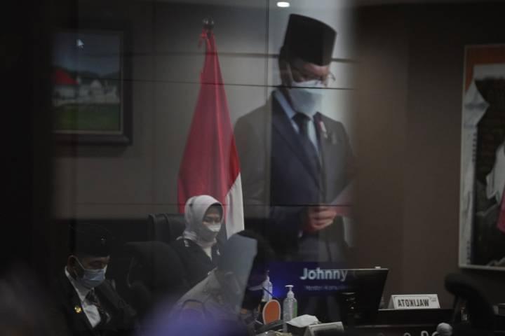 Peringatan Hari Kebangkitan Nasional secara virtual di Balai Kota Among Tani Batu. (Foto: Diskominfo Kota Batu)