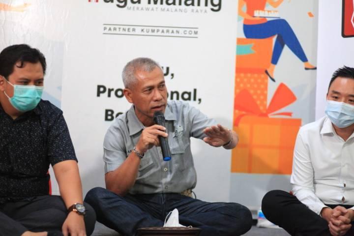 Ketua Real Estate Indonesia (REI) Malang Raya Suwoko. (Foto: Dani Kristian/Tugu Jatim)