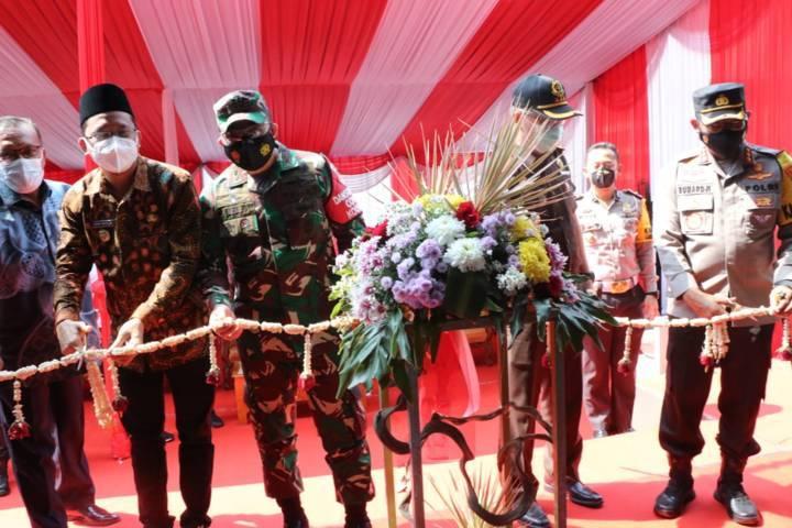 Launching Mall Mini Pelayanan Polri (MMPP).(Foto: Polrestabes Surabaya/Tugu Jatim)
