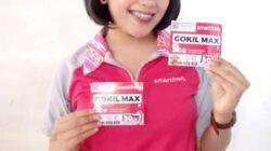 Seorang model memegang produk SP GOKIL MAX Ngalam. (Foto: Dok/Tugu Jatim)
