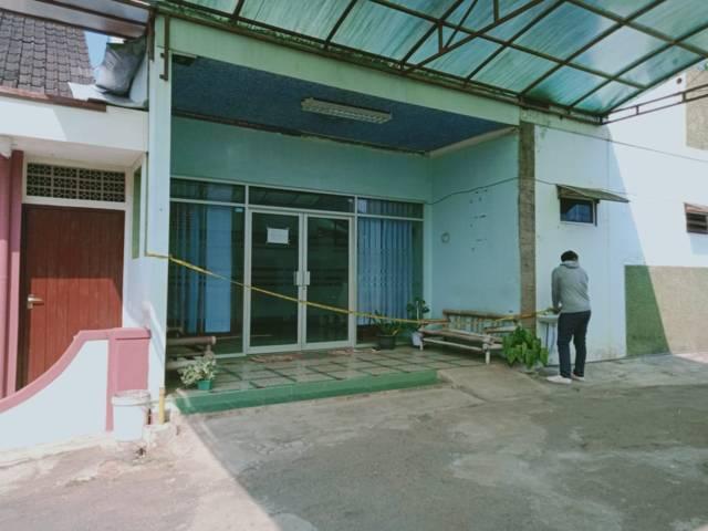 TKP pembakaran perawat cantik di Kabupaten Malang. (Foto: Rap/Tugu Jatim)