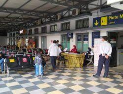 Stasiun Kota Baru Malang Hanya Berpenumpang 45 Orang selama Larangan Mudik