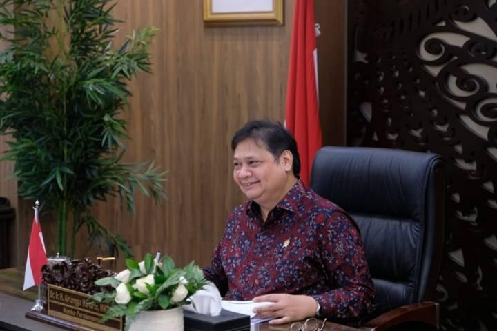 Menteri Koordinator Bidang Perekonomian Airlangga Hartarto. (Foto: ekon.go.id)