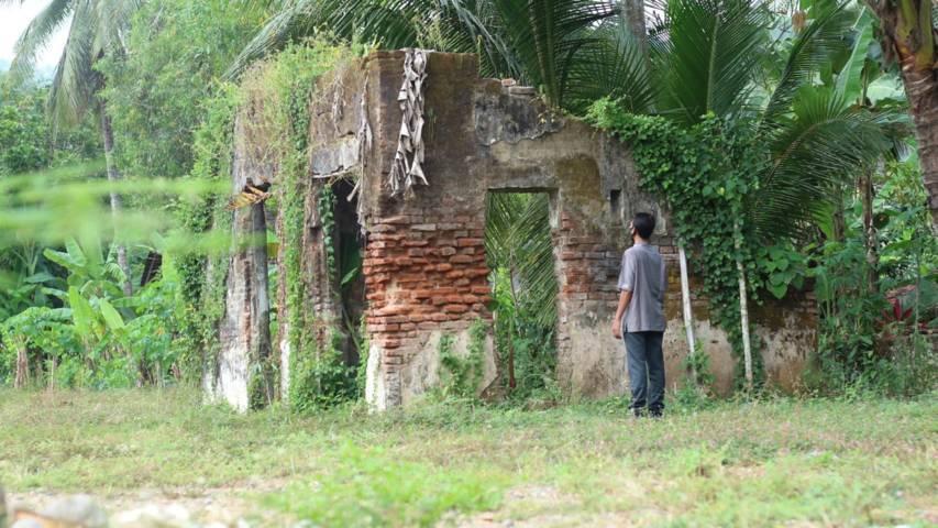 Bangunan eks kawedanan Panggul, yang akan menjadi situs cagar budaya. (Foto: Zamz/Tugu Jatim)