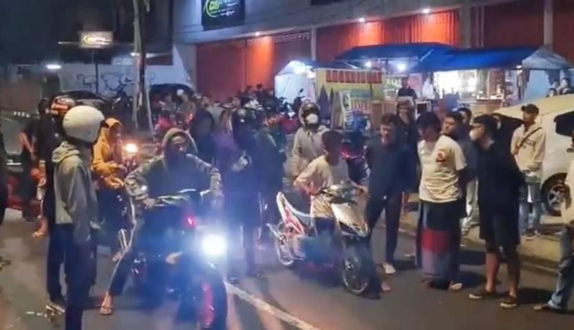 Pembalap liar yang mengganggu kenyamanan warga ditangkap. (Foto:Satlantas Polresta Malang Kota/Tugu Jatim)