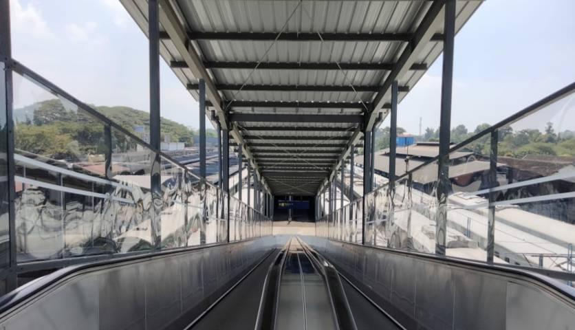 Salah satu fasilitas di Stasiun Kota Baru Malang. (Foto:Azmy/Tugu Jatim)