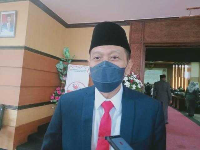 Sekretaris Daerah (Sekda) Kabupaten Malang, Wahyu Hidayat saat ditemui beberapa waktu terkait proyek pembangunan Gondola, di Tumpang, Kabupaten Malang. (Foto: Rizal Adhi/Tugu Malang/Tugu Jatim)