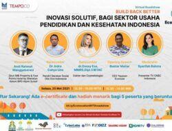 Econovation Virtual Roadshow: Menggali Inovasi Solutif Pengusaha Muda dari Wilayah Timur Indonesia