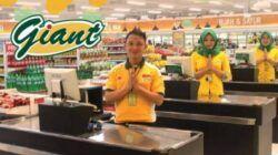 Perusahaan ritel multiformat PT Hero Supermarket Tbk. (HERO Group) akan menutup seluruh gerai Giant di Indonesia pada akhir Juli 2021. (Foto: Instragram/Giant Indonesia)