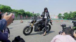 Motor naked sport All New CB150R Streetfire dengan tampilan desain baru resmi meluncur di Jatim dan NTT. (Foto: Honda)