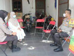 Kapolrestabes Surabaya Anjangsana ke Rumah Korban KRI Nanggala 402