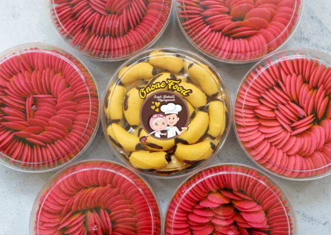 Kue kering Ono Ae Food buatan Wilda Uliarosa Damayanti yang kebanjiran pembeli. (Foto: Dokumen/Ono Ae Food) kota malang