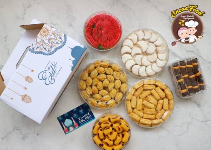 Kue kering Ono Ae Food buatan Wilda Uliarosa Damayanti yang kebanjiran pembeli. (Foto: Dokumen/Ono Ae Food)