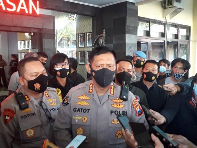 Kabid Humas Polda Jatim, Kombes Pol Gatot Repli Handoko saat berada di Kota Malang beberapa waktu lalu. (Foto: M Sholeh/Tugu Jatim)