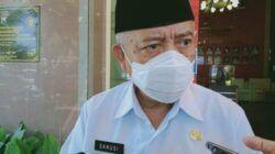 Bupati Malang, M Sanusi memastikan ASN di Kabupaten Malang tak bisa mudik seenaknya karena setiap harinya akan dilacak. (Foto: Rizal Adhi/Tugu Jatim)