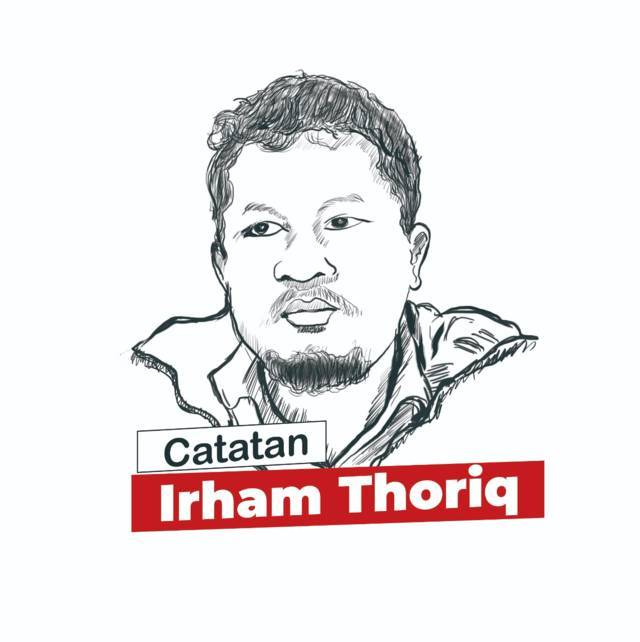 catatan Irham Thoriq, CEO Tugu Media Group. (Ilustrasi: Dicky Hanafi/Tugu Jatim)