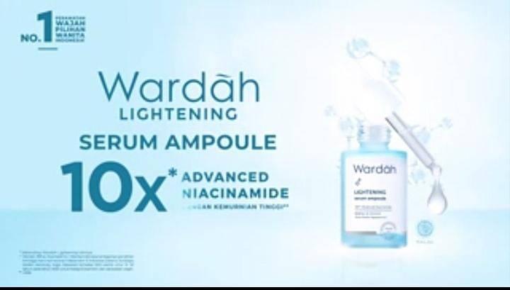 Produk Wardah Lightening Serum Ampoule. (Foto: Mila Arinda/Tugu Jatim)