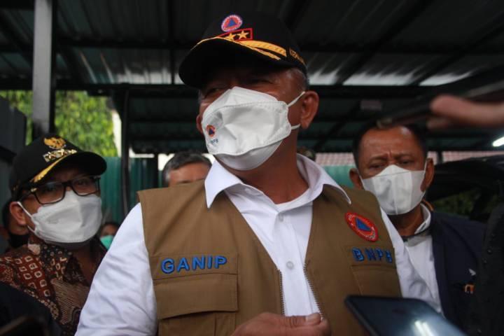 Kepala Badan Nasional Penanggulangan Bencana (BNPB) Letjen TNI Ganip Warsito. (Foto: Rubianto/Tugu Jatim)