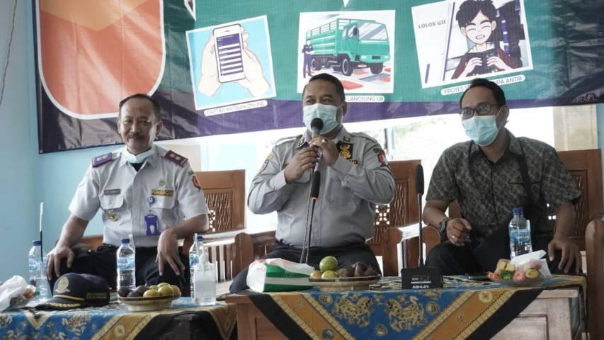 Launching SUKIRNO di Dinas Perhubungan Bojonegoro, Sabtu (12/06/2021). (Foto: Mila Arinda/Tugu Jatim)