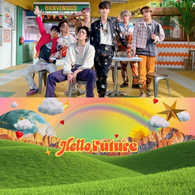 NCT Dream Hello Future. (Foto: Twitter @NCTsmtown_DREAM/Tugu Jatim)