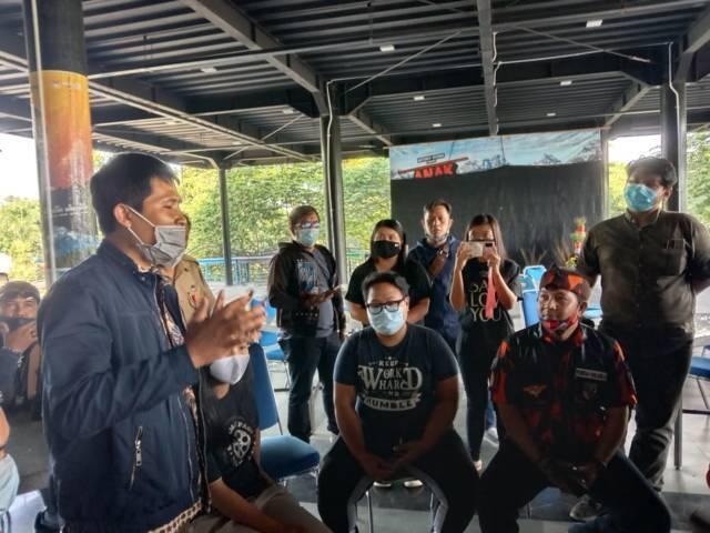 Audiensi antara perwakilan Pemuda Pancasila dan pihak SMA SPI Kota Batu. (Foto: Sholeh/Tugu Jatim)