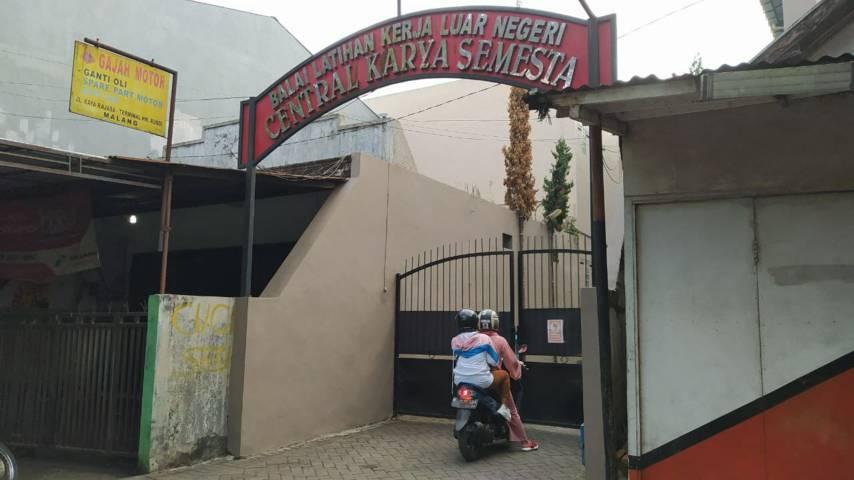 Balai Latihan Kerja (BLK) Central Karya Semesta (PT CKS) yang berada di Jalan Raya Rajasa, Kota Malang. (Foto: Azmy/Tugu Jatim)