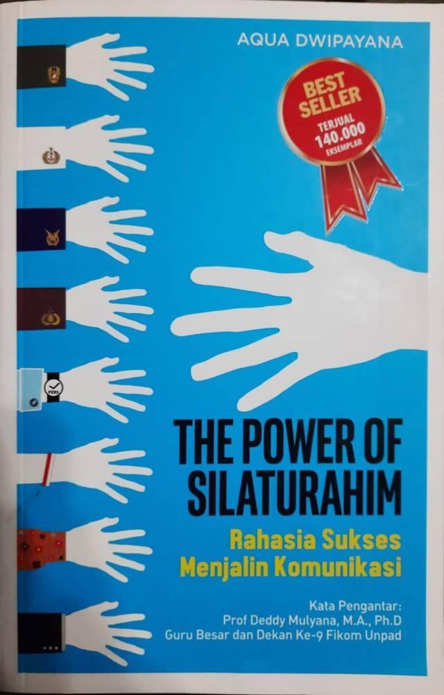 Buku The Power of Silaturahim. (Foto: Dokumen/Tugu Jatim)