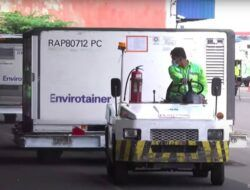 8 Juta Dosis Bahan Baku Vaksin Sinovac Tiba di Indonesia