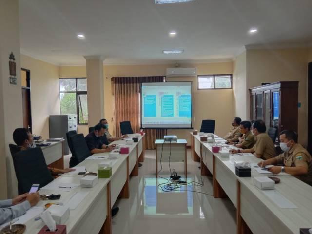 Pertemuan Dinas Pertanian dan Ketahanan Pangan Kota Batu dan Komisi B DPRD Kota Batu terkait penyaluran pupuk subsidi di Kota Batu. (Foto: Sholeh/Tugu Jatim)