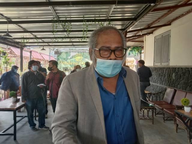 Ketua Komnas PA, Arist Merdeka Sirait saat berada di Kota Batu. (Foto: M Sholeh/Tugu Jatim) sma spi kota batu