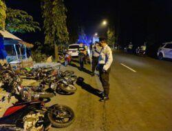 Razia Balap Liar, Puluhan Motor dan Remaja di Tuban Diamankan Polisi