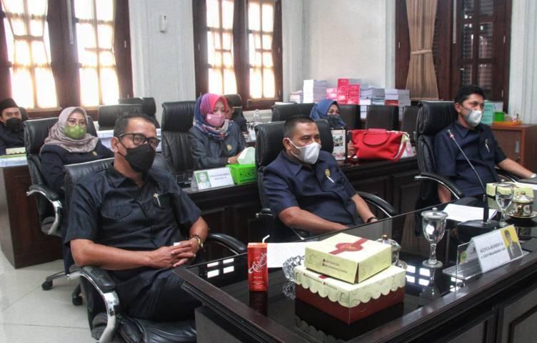DPRD Kota Malang meminta pemkot  lakukan langkah extra ordinary untuk penanganan Covid-19 yang masih tinggi.(Foto: Rubianto/Tugu Jatim)