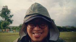 Sutadji Arman selaku MC Home Pertandingan Persebaya Surabaya. (Foto: Dokumen/Tugu Jatim)